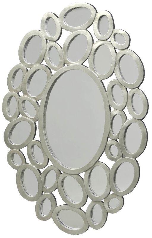 Панно Кольца с зеркалами овал 20005. Фото №1