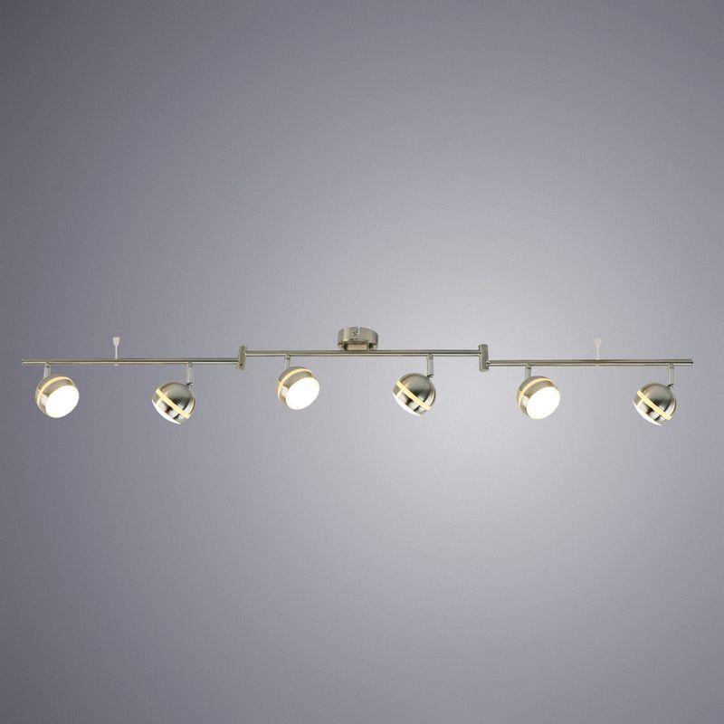 Спот Arte Lamp Venerd A6009PL-6SS