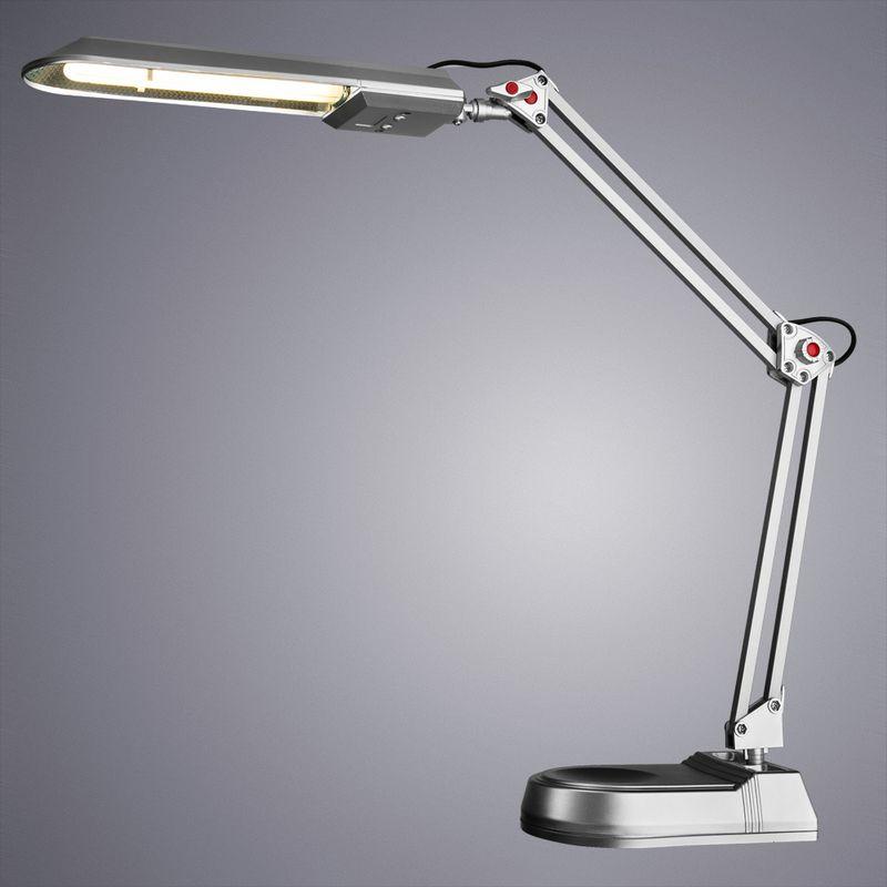 Настольная лампа Arte Lamp DESK A5810LT-1SI. Фото №1