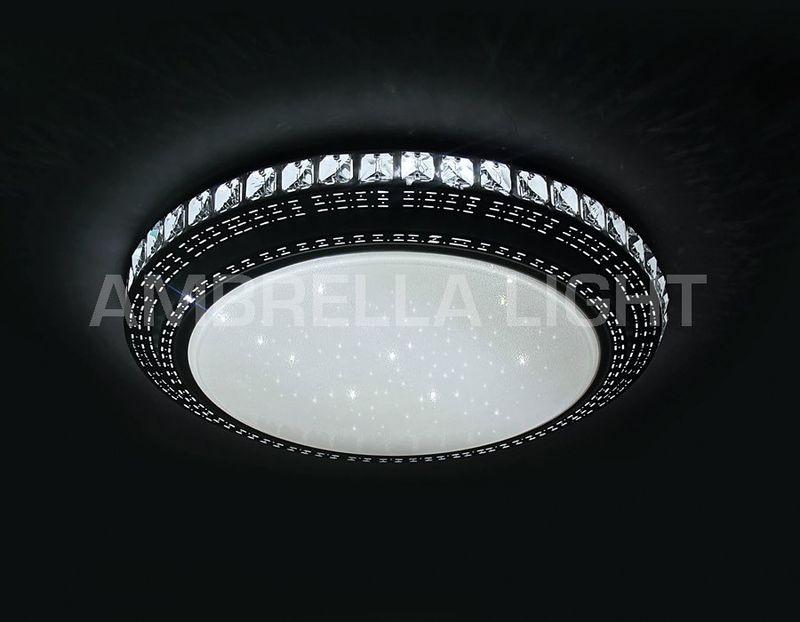 Светильник потолочный светодиодный, многофункциональный с ПДУ ORBITAL F93 202W D800