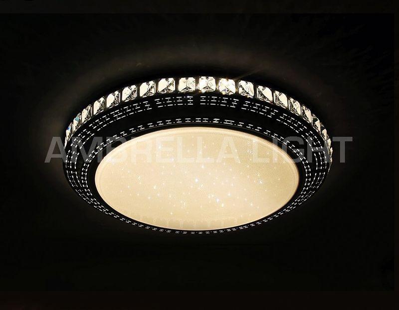 Светильник потолочный светодиодный, многофункциональный с ПДУ ORBITAL F93 202W D800. Фото №1