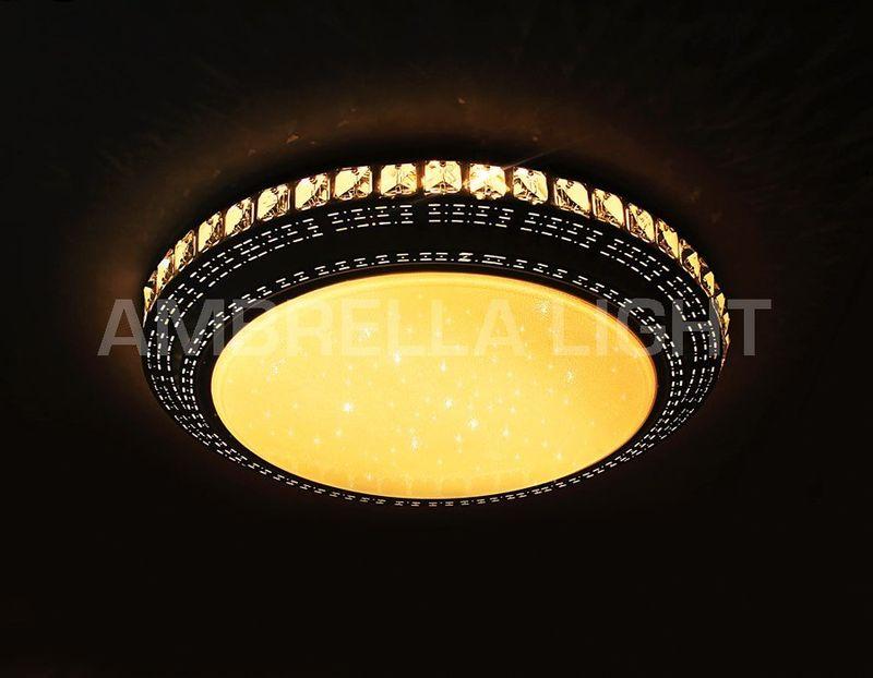 Светильник потолочный светодиодный, многофункциональный с ПДУ ORBITAL F93 202W D800. Фото №2