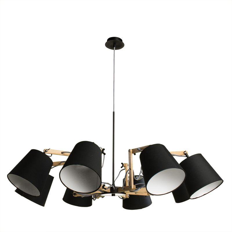 Светильник подвесной Arte Lamp Pinoccio A5700LM-8BK