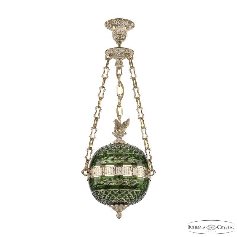 Подвесной светильник Bohemia Ivele Crystal 71000P/25 GW Clear-Green/H-1J FS1S