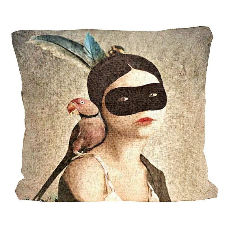 Декоративная подушка Маскарад 2719139. Фото №3