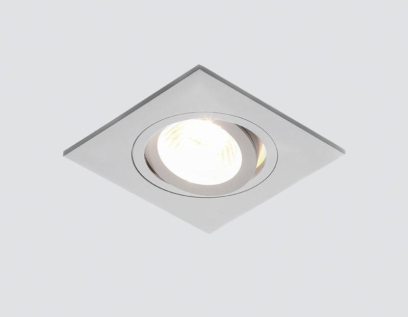 Точечный светильник из алюминия Классика A601 W
