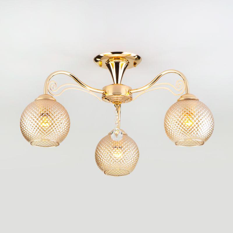 Потолочный светильник Eurosvet Kristin 30139/3 золото