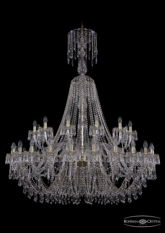 Люстра Bohemia Ivele Crystal 1403/24+12/530/XL-160 G