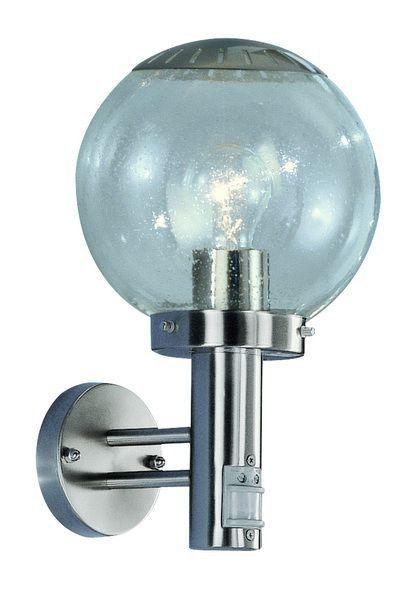 Уличный настенный светильник с сенсором BOWLE -II 3180S