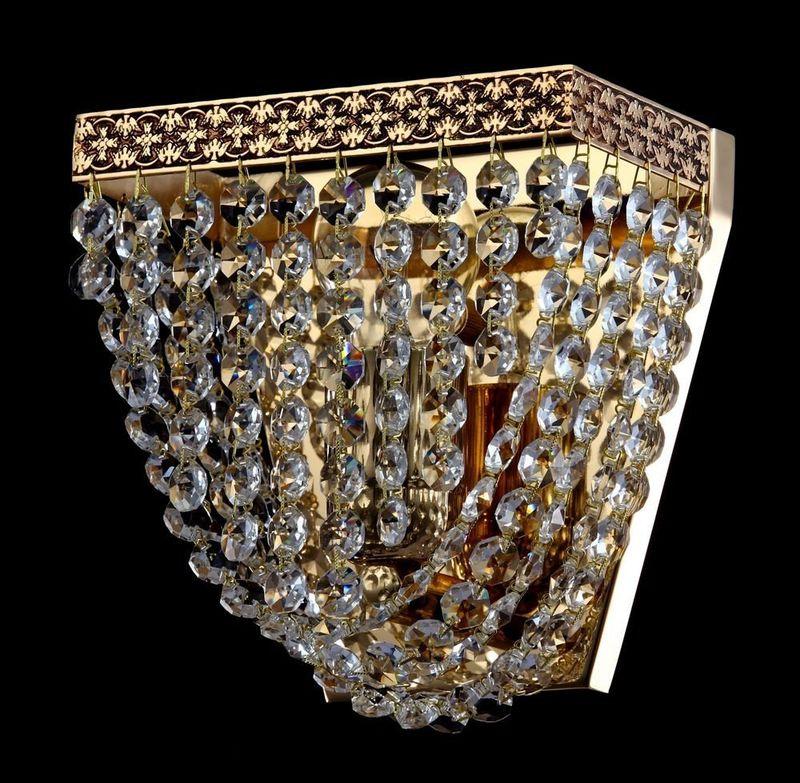 Настенный светильник Quadrato M583-WB1-G