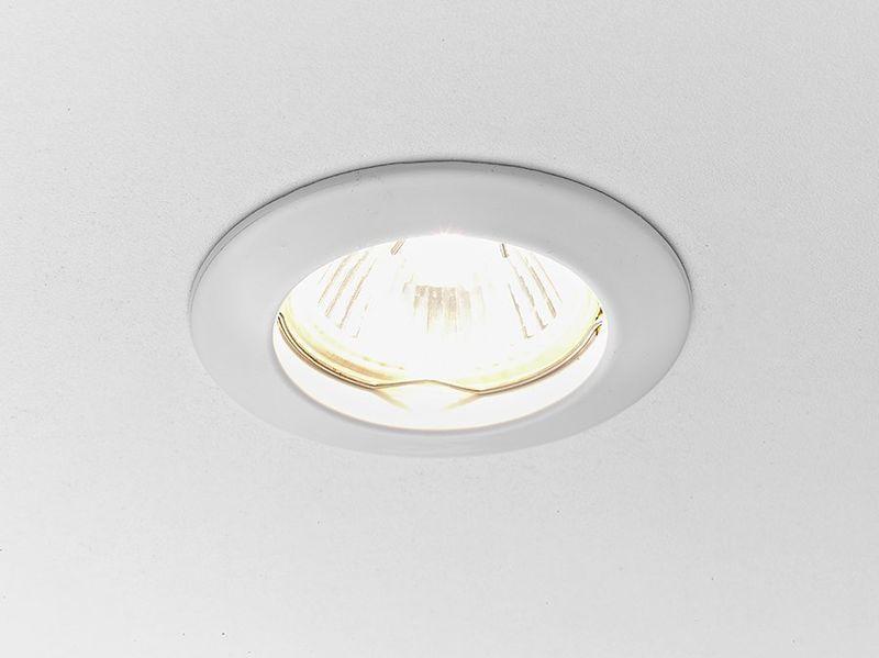 Точечный светильник Классика 863A WH