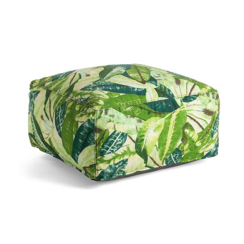 Пуф Tropical зеленый 47572