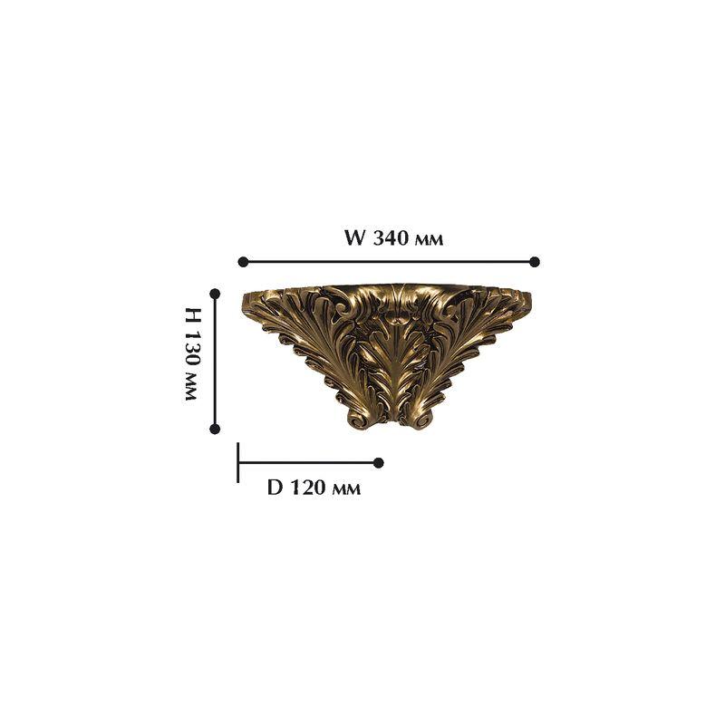 Настенный светильник Cornisa 1325-1W. Фото №1