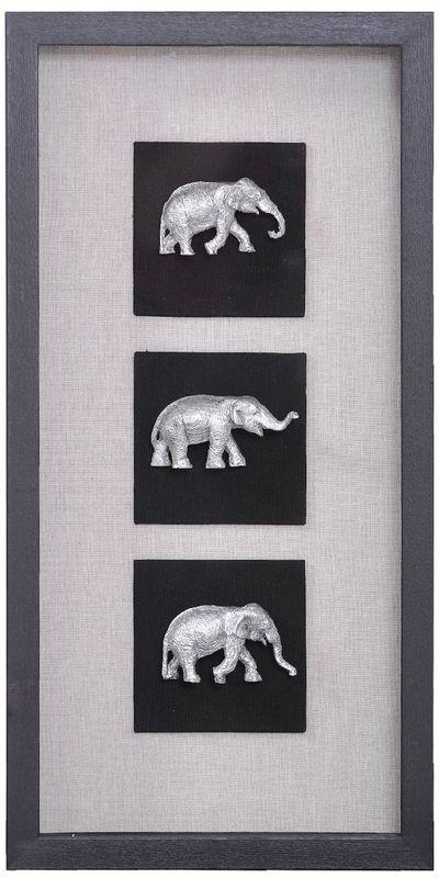 Панно Индийские слоны-2 20937B