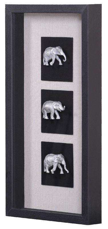 Панно Индийские слоны-2 20937B. Фото №1