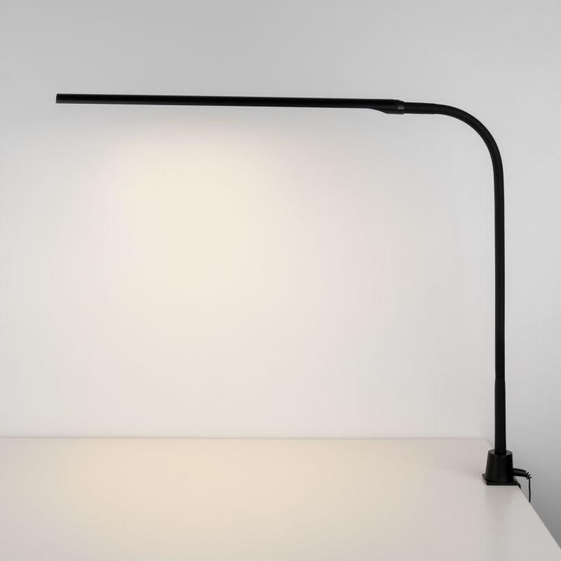 Светодиодная настольная лампа на струбцине Eurosvet Flex 80429/1 черный