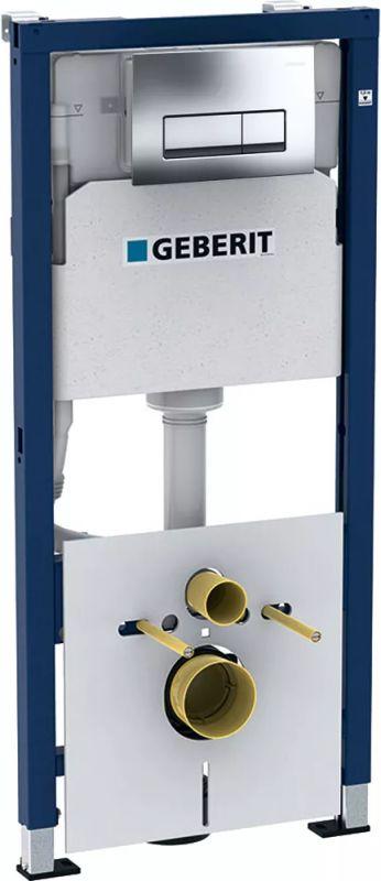 Инсталляция для подвесного унитаза GeberitDuofix 458.128.21.1 механика