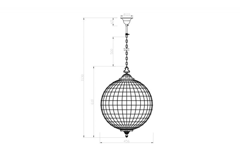 Подвесной светильник 15-MD6069-3. Фото №2