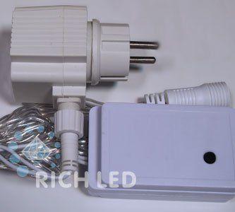 Блок питания с контроллером для водопадов Rich LED RL-Cn4-WF-24-W
