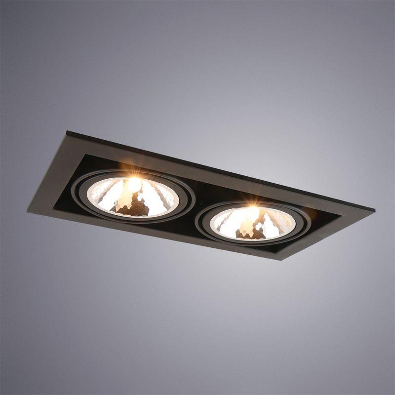 Уличный светильник Arte Lamp Cardani semplice A5949PL-2BK