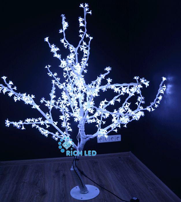Светодиодное дерево Сакура 150 RL-TRC24-150*130-480-W/W