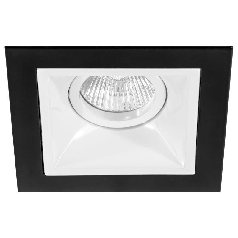Комплект из светильника и рамки Lightstar Domino D51706