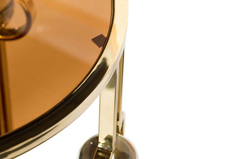 Стол журнальный Garda Decor 13RXET6034-GOLD. Фото №1