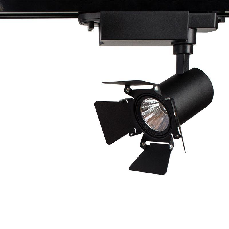 Трековый светильник Arte Lamp track lights A6709PL-1BK