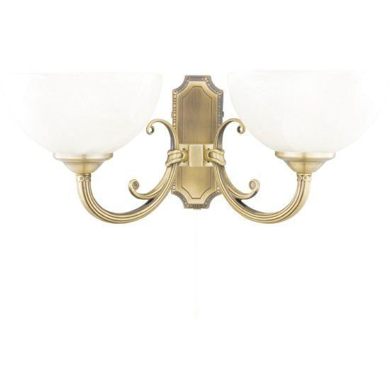 Светильник настенный Arte Lamp Windsor white A3777AP-2AB