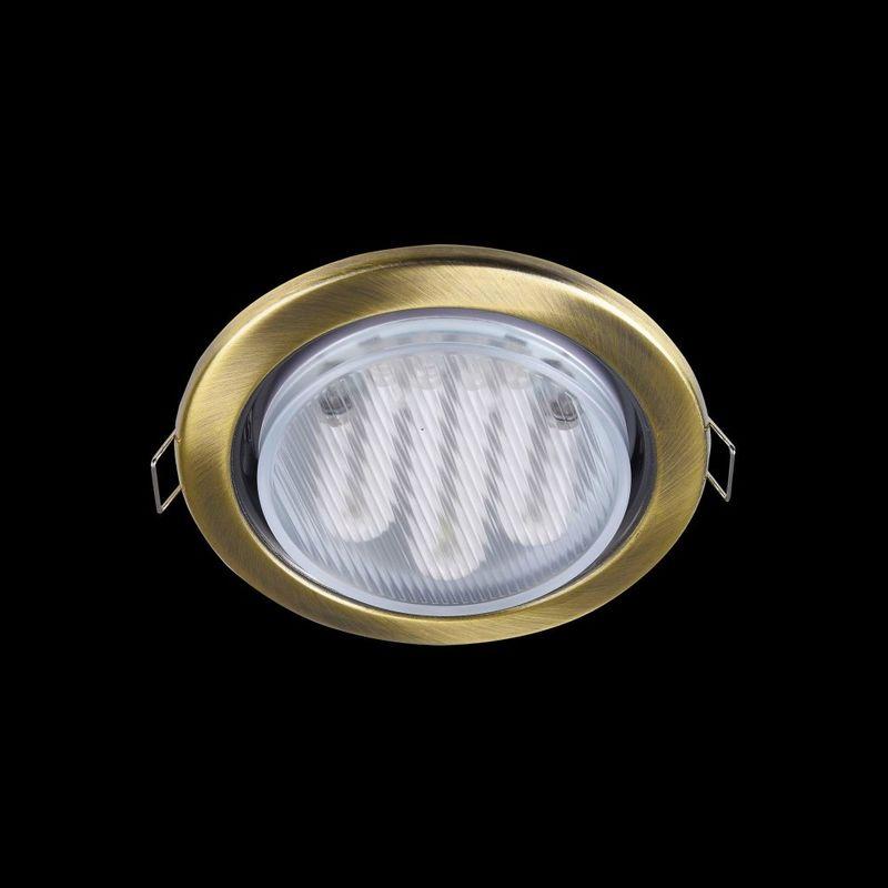 Встраиваемый светильник Metal DL293-01-BZ