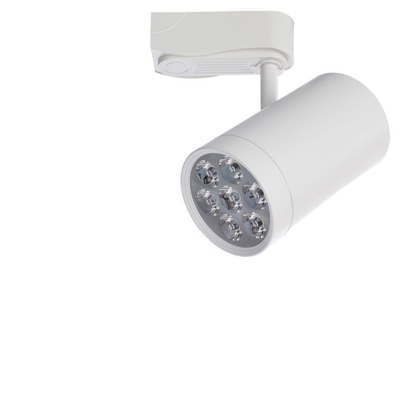 Трековый светильник поворотный Arte Lamp track lights A6107PL-1WH