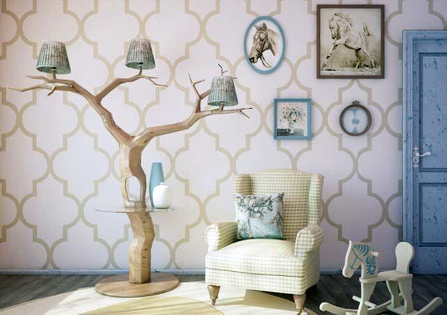Торшеры из дерева эко-дизайн