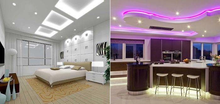 Декоративная и функциональная подсветка в интерьере