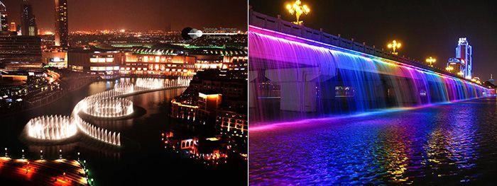 Декоративная и экстерьерная подсветка в Дубаях