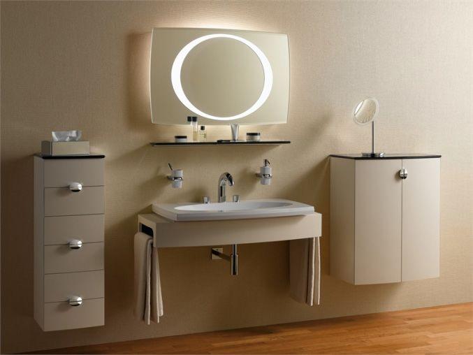 Объёмная подсветка зеркала в интернет-магазине BasicDecor.ru