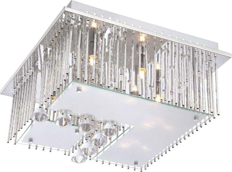 светодиодная люстра в стиле ар-деко
