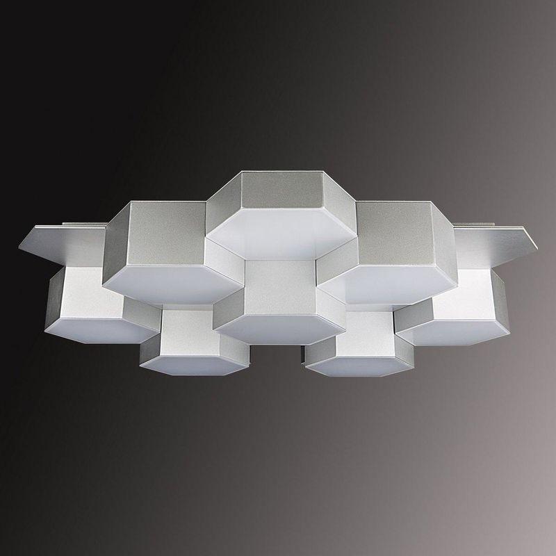 светодиодная люстра в стиле хай-тек