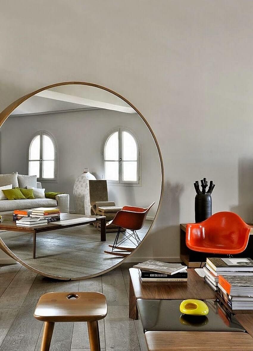 Зеркала в дизайне интерьеров